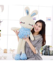 EZ Life 7 Color LED Light Bunny Pillow Plush Toy - Blue