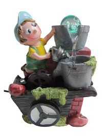 EZ Life Water Fountain Show Piece With Crystal Ball - Multi Color