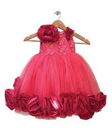 Flutterbows Little Designer Poser Gown - Pink