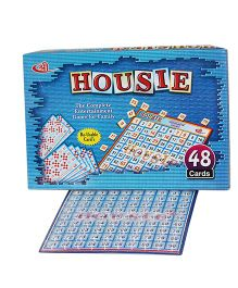 Shree Creations Housie Board Game Multicolor - 48 Reusable Cards