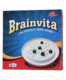 Shree Creations Brainvita Board Game - Multicolor