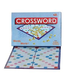Shree Creations Crossword Game Of Scrabble Board - Multicolor