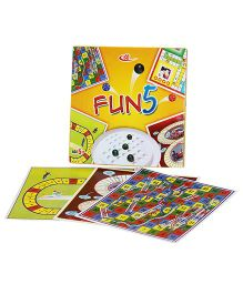 Shree Creations Fun 5 Board Game - Multicolor