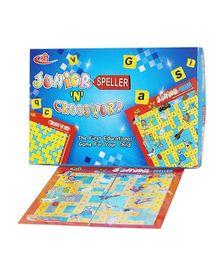 Shree Creations Junior Speller And Crossword Board Game - Multicolor