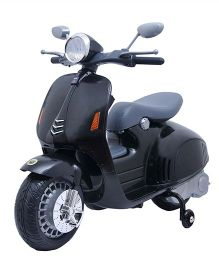 Happykids Battery Operated Scooty Ride On - Black