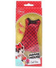 Disney Steffi Love Minnie Mouse Doll Dress And Accessories - Red Black