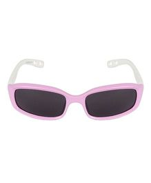 VESPL UV Protected Rectangular Sunglasses - Pink
