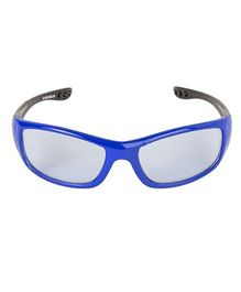 VESPL UV Protected Rectangular Sunglasses - Blue