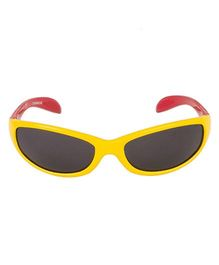 VESPL UV Protected Rectangular Sunglasses - Yellow