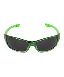 VESPL UV Protected Rectangular Sunglasses - Green