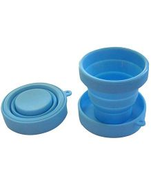 ShopAParty Silicone Travel Cup - Blue