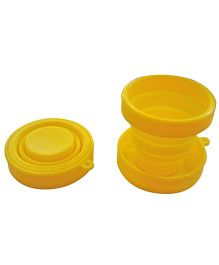 ShopAParty Silicone Travel Cup - Yellow