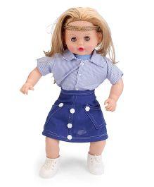 Speedage Aviva Doll Blue - Height 22 Inches