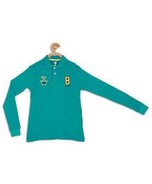 612 League Full Sleeves Polo T-Shirt - Green
