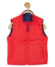 612 League Sleeveless Reversible Jacket - Red Blue