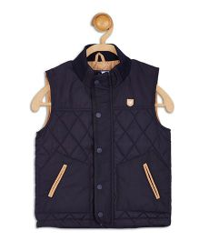 612 League Sleeveless Jacket - Navy