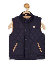 612 League Sleeveless Jacket - Navy