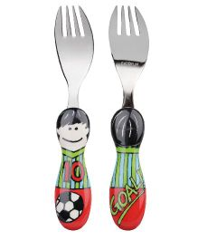Eat4Fun Kiddos Kids Fork Tony - 16 cm