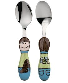 Eat4Fun Kiddos Kids Fork Chris - 16 cm
