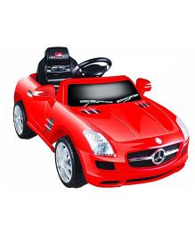 Pollys Pet Battery Operated Ride-On Mercedes Benz - Semi Assembled Red