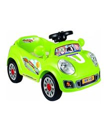 Pollys Pet Battery Operated Ride-On - Semi Assembled Green