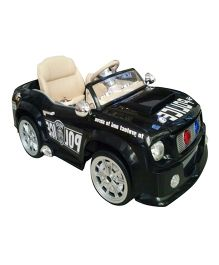 Pollys Pet Battery Operated Ride-On Mustang - Semi Assembled Black