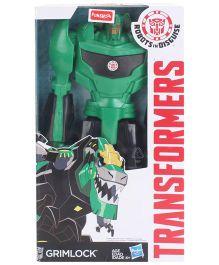 Transformers Titan Heroes Grimlock Green - 11 Inches