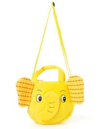 Wow Kiddos Elephant Side Align Bag - Yellow