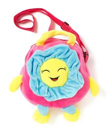Wow Kiddos Sunflower Side Sling Bag - Pink