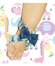 SnugOns Open Slipons With Bow - Blue