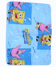 Baby Mats Cartoon Print - Blue