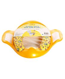 1st Step Baby Cushion Potty Seat Printed - Yellow