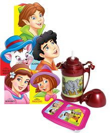 Dreamland - Fancy Story Board Book with Lunch Box & Water Bottle