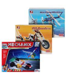 Mechanical Construction Set (Mechanix, Flying Machines & Off Roaders)