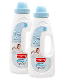Babyhug Liquid Laundry Detergent - 550 ml - Pack of 2