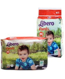 Libero Pant Style Diapers Medium - 40 Pieces and Libero Pant Style Diaper Medium - 20 Pieces