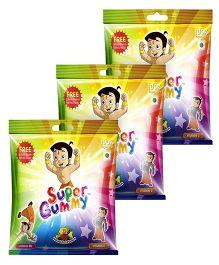 Super Gummy Vitamin B12 and C Gummies In A Pouch - 50 Pillow Packs