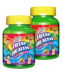 Super Gummy Total Health Calcium Plus Vitamin D3 - 60 pieces