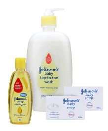 Johnson's Bath Time Combo