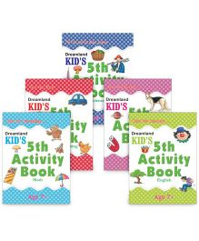 Kid's Activity book Age 7+ set of 5