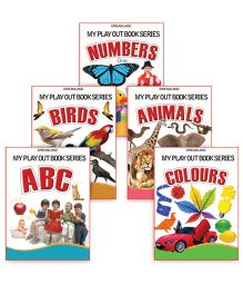 My Play Out Books set of 5