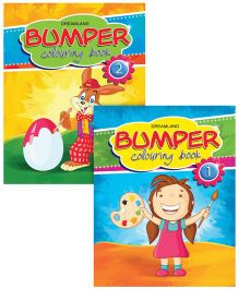 Bumper Colouring Books pack of 2