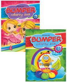 Bumper Colouring Books set of 2