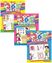 365 Activity Books pack of 3
