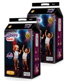 Libero Pant Style Diapers Medium - 40 Pieces Pack Of 2