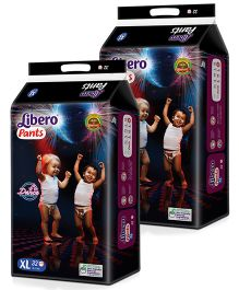 Libero Pant Style Diapers Extra Large - 32 Pieces Pack Of 2