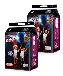 Libero Pant Style Diapers Small - 48 Pieces Pack Of 2