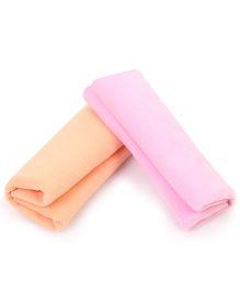 Babyhug Smart Dry Bed Protecting Sheet Peach - Small & Babyhug Smart Dry Bed Protecting Sheet Pink - Small