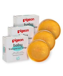 Pigeon Baby Transparent Soap - 80 gm pack of 3