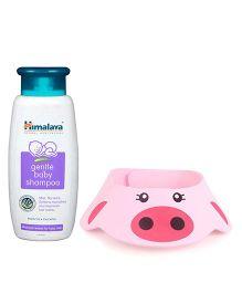 Himalaya Herbal Gentle Baby Shampoo - 400 ml and Adore Shampoo Hat - Pink